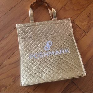 Poshmark gold tote. New